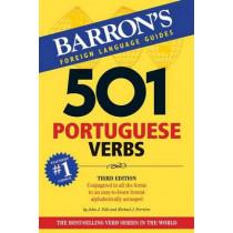 501 Portuguese Verbs by John J. Nitti, 9781438005232
