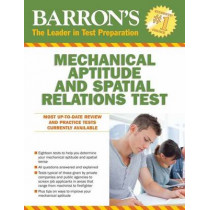 Barron's Mechanical Aptitude and Spatial Relations Test by Joel Wiesen, 9781438005706