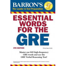 Essential Words for the GRE by Philip Geer, 9781438007496