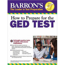How to Prepare for the GED Test with CD-ROM, 2nd Edition by Christopher Sharpe, 9781438007977