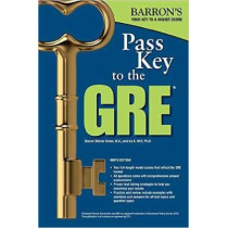 Pass Key to the GRE by Sharon Weiner Green, 9781438009124