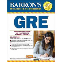 Barron's GRE with Online Tests by Sharon Weiner Green, 9781438009155
