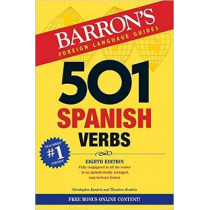 501 Spanish Verbs by Christopher Kendris, 9781438009162