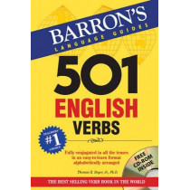 501 English Verbs with CD-ROM by Thomas R. Beyer, 9781438073026