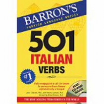 501 Italian Verbs by Marcel Danesi, 9781438075211