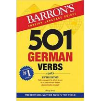 501 German Verbs by Henry Strutz, 9781438075860