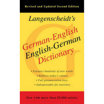 German-English Dictionary by Langenscheidt, 9781439141663