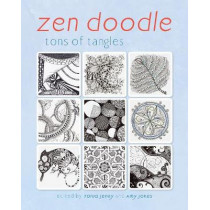 Zen Doodle: Tons of Tangles by Tonia Jenny, 9781440332104