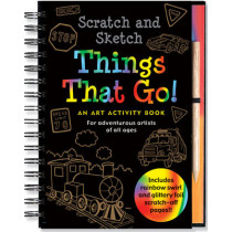 Scratch & Sketch Things That Go by Martha Day Zschock, 9781441303394