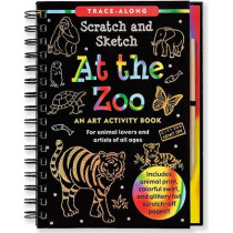 Scratch & Sketch at the Zoo by Martha Day Zschock, 9781441305732