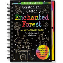 Scratch & Sketch Enchanted Forest by Martha Day Zschock, 9781441307330