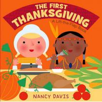 The First Thanksgiving: A Lift-The-Flap Book by Kathryn Lynn Davis, 9781442408074
