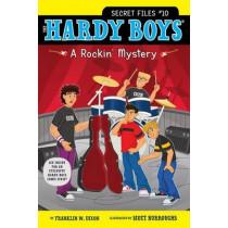HBSF #10: A Rockin' Mystery by Franklin W. Dixon, 9781442416710