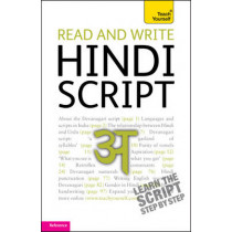 Read and write Hindi script: Teach Yourself by Rupert Snell, 9781444103915