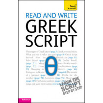 Read and write Greek script: Teach yourself by Sheila Hunt, 9781444106138