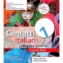 Contatti 1 Italian Beginner's Course 3rd Edition: Course Pack, 9781444133134