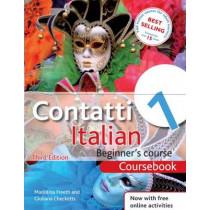 Contatti 1 Italian Beginner's Course 3rd Edition: Coursebook by Mariolina Freeth, 9781444133141