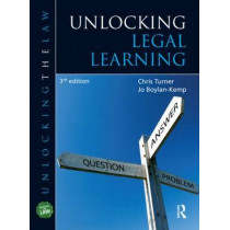 Unlocking Legal Learning by Chris Turner, 9781444167863