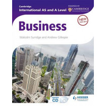 Cambridge International AS and A Level Business by Malcolm Surridge, 9781444181395