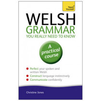 Welsh Grammar You Really Need to Know: Teach Yourself by Christine Jones, 9781444189636