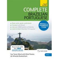 Complete Brazilian Portuguese Beginner to Intermediate Course: (Book and audio support), 9781444198447