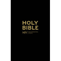 NIV Holy Bible - Anglicised Black Gift and Award by New International Version, 9781444701593