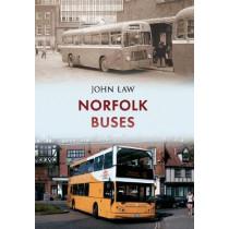 Norfolk Buses by John Law, 9781445653914