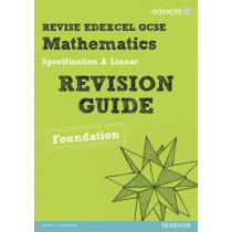 Revise Edexcel GCSE Mathematics Edexcel Spec A Found Revision Guide by Keith Pledger, 9781446900178