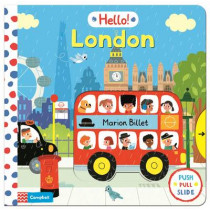 Hello! London by Marion Billet, 9781447246824