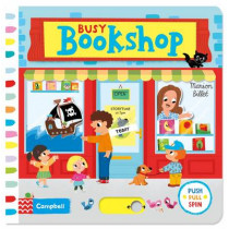 Busy Bookshop by Marion Billet, 9781447264262