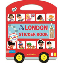 My First London Sticker Book by Marion Billet, 9781447276173