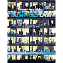 Keenan and Riches' Business Law 11th edn by Sarah Riches, 9781447922933