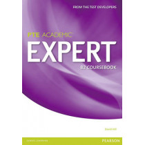 Expert Pearson Test of English Academic B2 Standalone Coursebook by David Hill, 9781447975014