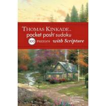 Thomas Kinkade Pocket Posh Sudoku 2 with Scripture: 100 Puzzles by The Puzzle Society, 9781449426941