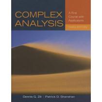 Complex Analysis by Dennis G. Zill, 9781449694616