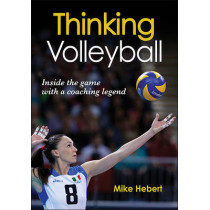 Thinking Volleyball by Mike Hebert, 9781450442626