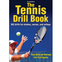 The tennis drill book by Tina Hoskins-Burney, 9781450459921