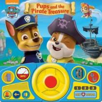 PAW Patrol - Pups & the Pirate Treasure Steering Wheel Book, 9781450896740
