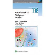 Handbook of Dialysis by John T. Daugirdas, 9781451144291