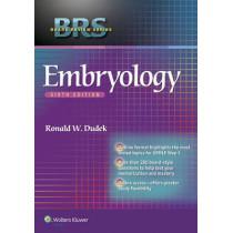 BRS Embryology by Ronald W. Dudek, 9781451190380