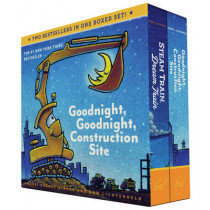 Goodnight, Goodnight, Construction Site and Steam Train, Dream Train Board Books Boxed Set by Sherri Duskey Rinker, 9781452146980