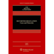 Securities Regulation: Cases and Materials by James D Cox, 9781454868392