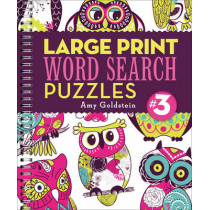 Large Print Word Search Puzzles 3 by Amy Goldstein, 9781454914983