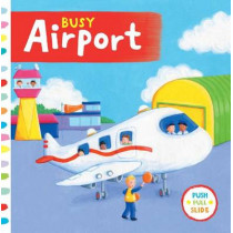 Busy Airport by Rebecca Finn, 9781454917328