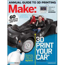 Make: Technology on Your Time: 3D Printer Buyer's Guide: Volume 42 by Jason Babler, 9781457183850