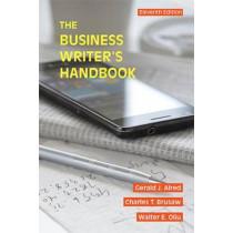 The Business Writer's Handbook by Gerald J. Alred, 9781457675515
