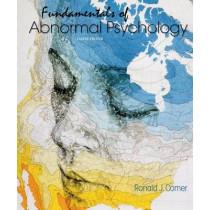 Fundamentals of Abnormal Psychology by University Ronald J Comer, 9781464176975