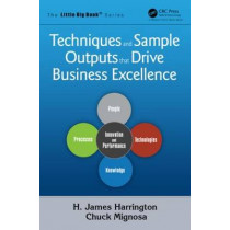 Techniques and Sample Outputs that Drive Business Excellence by H. James Harrington, 9781466577268