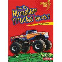 How Do Monster Trucks Work by Buffy Silverman, 9781467796835