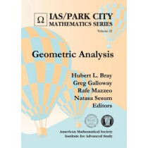 Geometric Analysis by Hubert L. Bray, 9781470423131